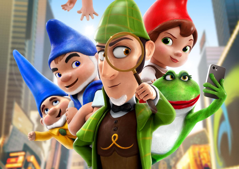 Sherlock Gnomes header image